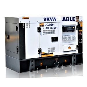 10kVA Diesel Generator 240V - Single Phase Generator