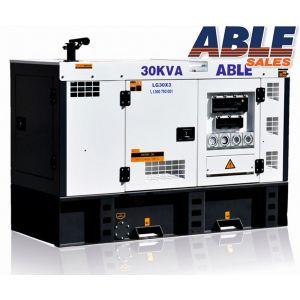 30kVA Diesel Generator - 3 Phase Generator, 415V Generator