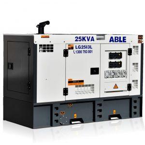 25kVA Diesel Generator Isuzu Powered 3 Phase Generator