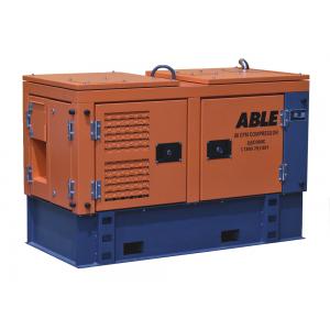 80 CFM diesel screw air compressor