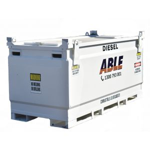 8000 Litre Cube Self-Bunded Fuel Tank (Safe Fill 7600 Litre)