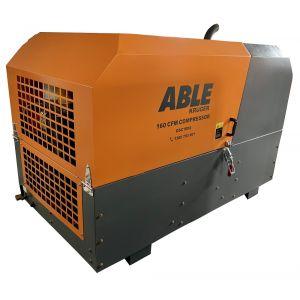 Diesel Screw Compressor 160 CFM