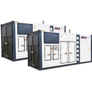 2200kVA Synchronised Generators