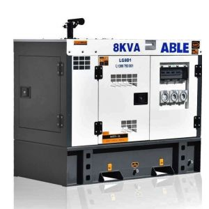 8kVA Diesel Generator 240V - Single Phase Generator