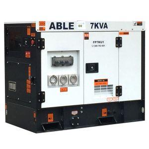 7 kVA Diesel Generator Kubota Powered